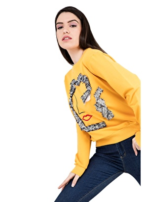 Bebe Plus Sweatshirt Bebe Plus Kadın Sweat 38723095